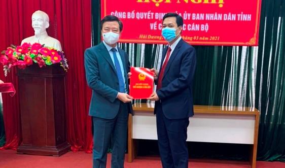 Hải Dương: Trao quyết định bổ nhiệm Giám đốc Sở Tài nguyên và Môi trường
