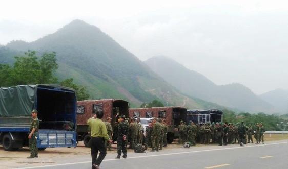 Đà Nẵng huy động quân đội đánh sập gần 30 hầm vàng trái phép