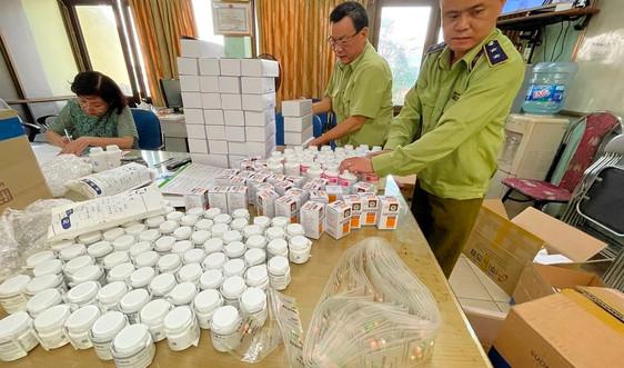 Dược phẩm Hàn Quốc không hóa đơn, chứng từ đi ra từ kho Cảng hàng không Nội Bài