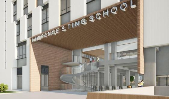 Tập đoàn Xây dựng Hòa Bình trúng thầu dự án Trường THCS – THPT Đinh Thiện Lý 2 trị giá gần 400 tỷ đồng