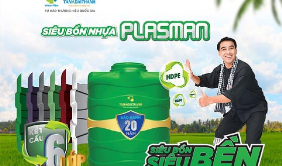 Tân Á Đại Thành trao tặng 2000 bồn nhựa Plasman cho người dân vùng ĐBSCL