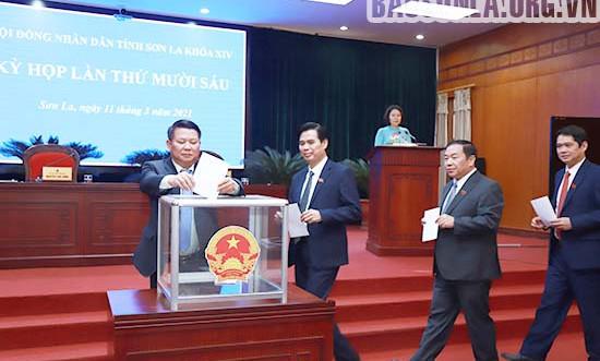 Sơn La, Tuyên Quang kiện toàn công tác nhân sự