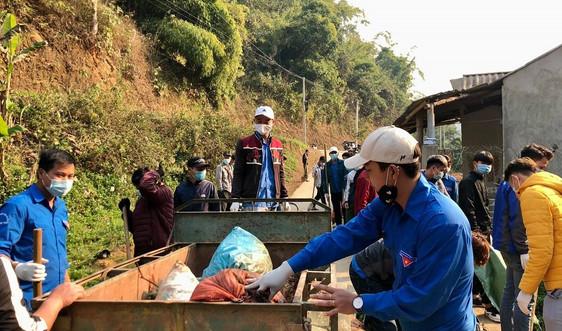 Sơn La: Nhiều hoạt động bảo vệ môi trường hưởng ứng Tháng thanh niên
