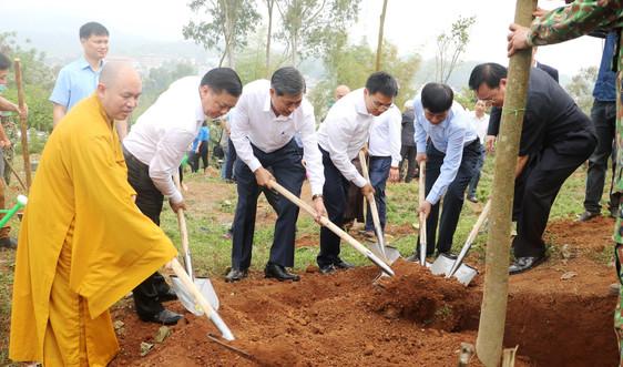 Điện Biên: Phát động trồng 10.000 cây hoa Ban