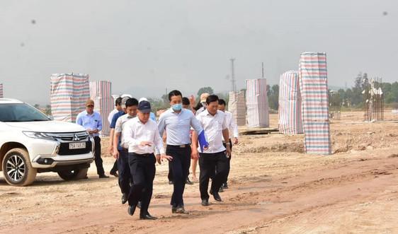 Đẩy nhanh tiến độ dự án Nhà ga hành khách T2 – Cảng hàng không quốc tế Phú Bài