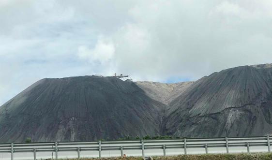 Quảng Ninh: Đẩy mạnh việc sử dụng đất đá thải mỏ làm vật liệu san lấp