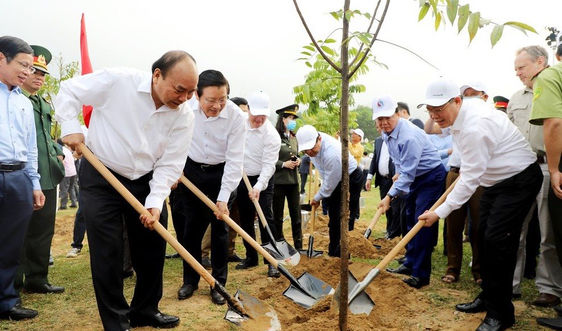 Bộ TN&MT hưởng ứng Chương trình trồng 1 tỷ cây xanh: Thể hiện cam kết với thế hệ tương lai