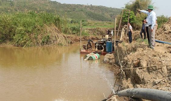 Đắk Nông: Chỉ đạo xử lý dứt điểm tình trạng khai cát trái phép trên lòng hồ thuỷ điện Buôn Tua Sar