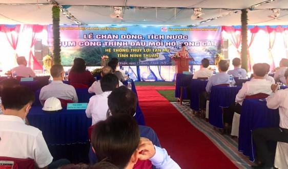Ninh Thuận: Chặn dòng tích nước hồ Sông Cái