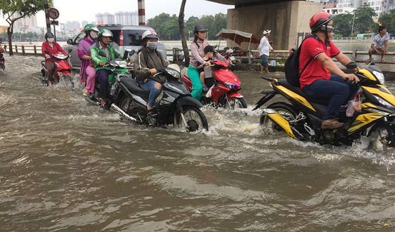 TP.HCM: Dự kiến huy động 30.000 người tham gia ứng phó tình trạng ngập lụt
