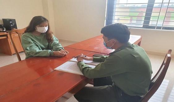 Hà Tĩnh: Một người dân bị phạt mười triệu đồng do khai báo y tế không trung thực