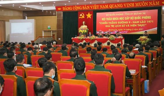 Chiến thắng Đường 9 - Nam Lào: Giá trị lịch sử và hiện thực