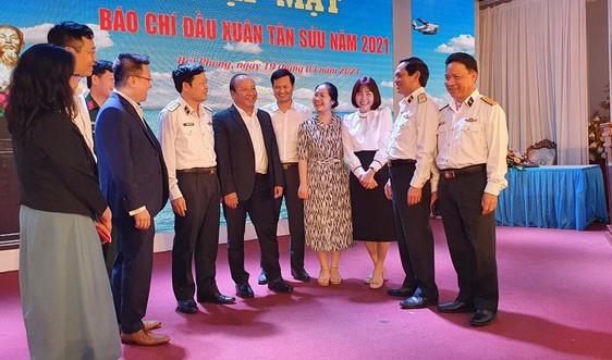 Bộ Tư lệnh Hải quân gặp mặt các cơ quan thông tấn, báo chí