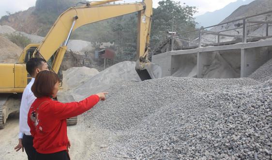 Tam Đường (Lai Châu): Cần siết chặt hoạt động khai thác khoáng sản