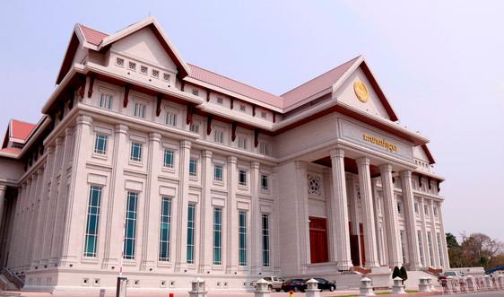 Việt Nam bàn giao công trình Nhà Quốc hội phục vụ Kỳ họp thứ nhất Quốc hội Lào Khoá IX