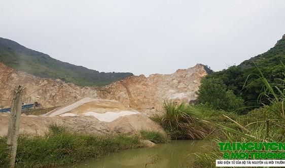 Nông Cống (Thanh Hóa): Mỏ đá Hồng Ngọc dính nhiều sai phạm trong khai thác khoáng sản