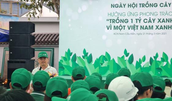 Ngày hội trồng cây Nam Cầu Kiền: Lan tỏa Thông điệp Xanh