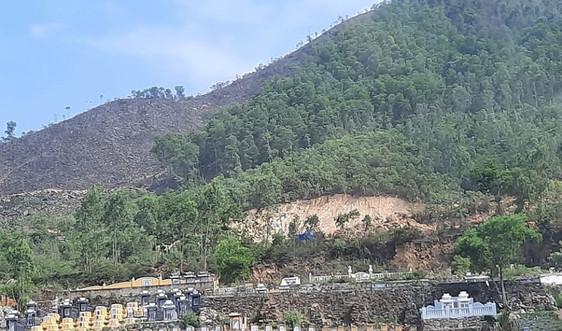 Đà Nẵng: Khai thác đất trái phép gây ô nhiễm  khu vực nghĩa trang Hòa Sơn