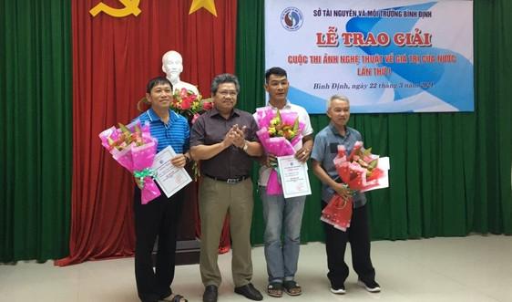 """Bình Định: Trao giải cuộc thi ảnh nghệ thuật về """"Giá trị của Nước"""" lần thứ I - năm 2021"""