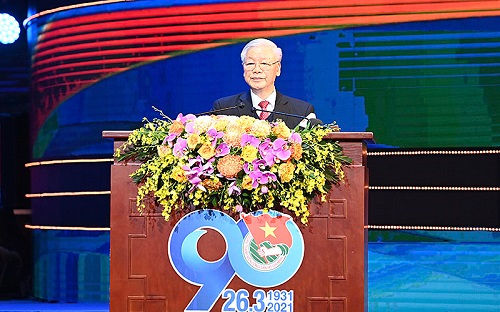 Phát biểu của Tổng Bí thư, Chủ tịch nước tại Lễ kỷ niệm 90 năm Ngày thành lập Đoàn