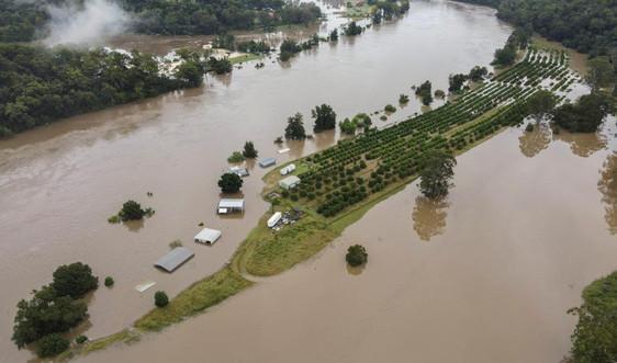 Lũ lụt tiếp tục diễn biến nghiêm trọng tại Australia