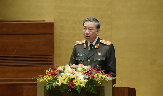 Bộ trưởng Tô Lâm làm rõ một số điều tại dự án Luật Phòng, chống ma túy (sửa đổi)