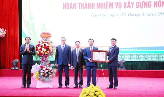 Lào Cai: Thành phố Tây Bắc đầu tiên về đích nông thôn mới