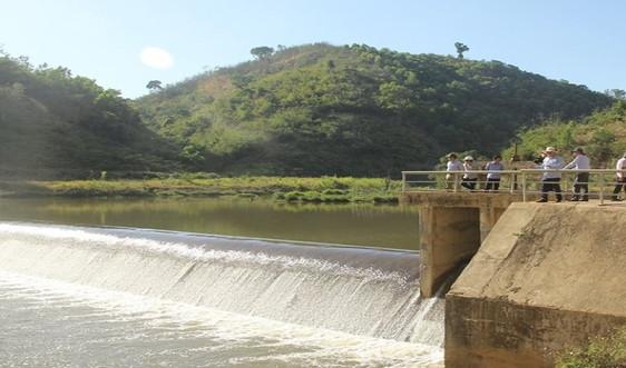 Đắk Nông: Kiểm tra tiến độ thi công công trình thuỷ lợi 90 tỷ đồng