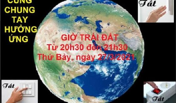 Bộ Công Thương đồng hành cùng Bộ Tài nguyên và Môi trường và các đơn vị thực hiện Giờ Trái đất 2021