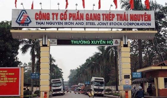 Tổng cục Môi trường kiểm tra đột xuất Công ty cổ phần gang thép Thái Nguyên