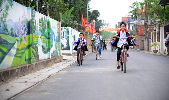 Vĩnh Phúc: Tạo sức bật xây dựng nông thôn mới bền vững