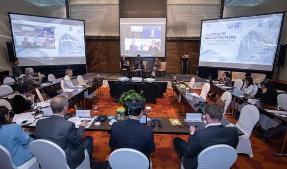 Tăng cường khả năng chống chịu và thích ứng với biến đổi khí hậu cho các thành phố tại Việt Nam