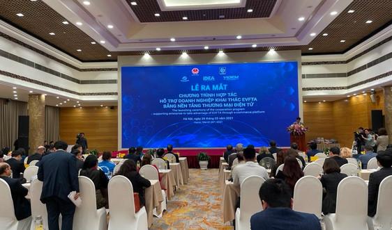 Ra mắt sàn thương mại điện tử doanh nghiệp Việt Nam – EU