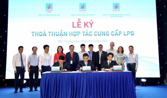 """Ký kết """"Thỏa thuận hợp tác cung cấp LPG"""" và """"Hợp đồng khung cung cấp LNG"""" giữa các đơn vị của PV GAS"""