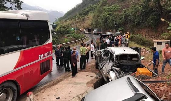 Sơn La: Tai nạn giao thông liên hoàn khiến 4 người bị thương