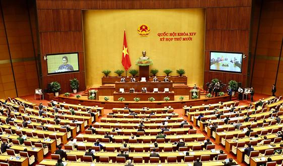 Quốc hội xem xét, quyết định nhân sự Nhà nước