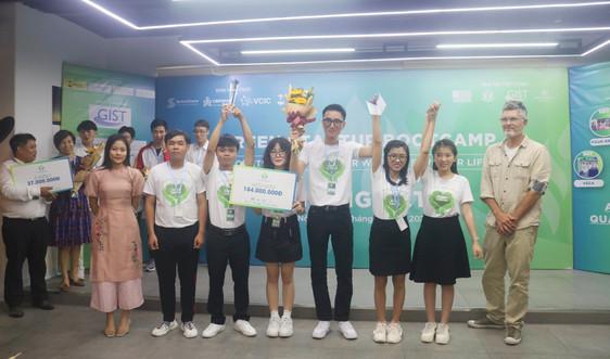 Trao giải cuộc thi Green Startup Bootcamp 2021
