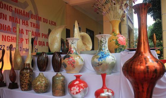 Công bố làng nghề sơn mài Hạ Thái trở thành điểm du lịch của Hà Nội