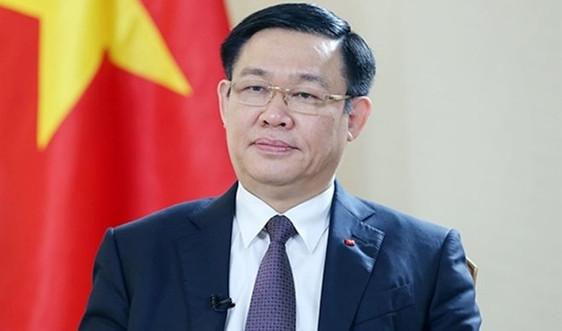Bí thư Thành uỷ Hà Nội Vương Đình Huệ được giới thiệu để bầu Chủ tịch Quốc hội