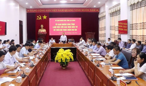 Lai Châu: Bàn giải pháp tháo gỡ khó khăn, đẩy nhanh tiến độ các dự án
