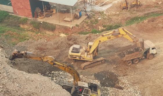 Quảng Trị: Phát hiện một doanh nghiệp khai thác đá không có giấy phép