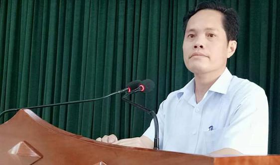 Ông Nguyễn Quốc Hương giữ chức Phó Giám đốc Sở Tài chính Hà Tĩnh