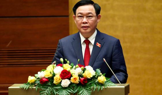 Toàn văn bài phát biểu của Chủ tịch Quốc hội Vương Đình Huệ sau Lễ tuyên thệ nhậm chức