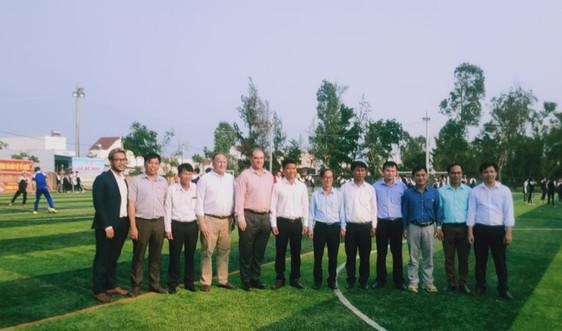 Hoiana tài trợ hơn 4 tỷ đồng để nâng cấp, sửa chữa các trường học tại Quảng Nam