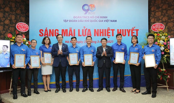 Đoàn Thanh niên PV GAS được tuyên dương và khen thưởng