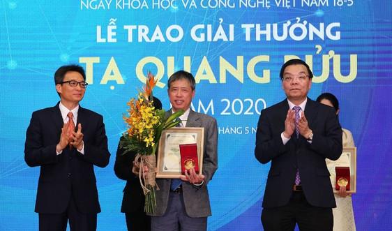 Đề cử Giải thưởng Tạ Quang Bửu năm 2021