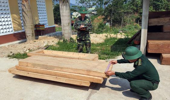 Huế: Liên tiếp bắt 2 vụ vận chuyển gỗ trái phép