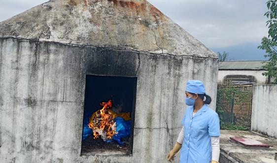 Nậm Nhùn (Lai Châu): Khó khăn xử lý rác thải y tế