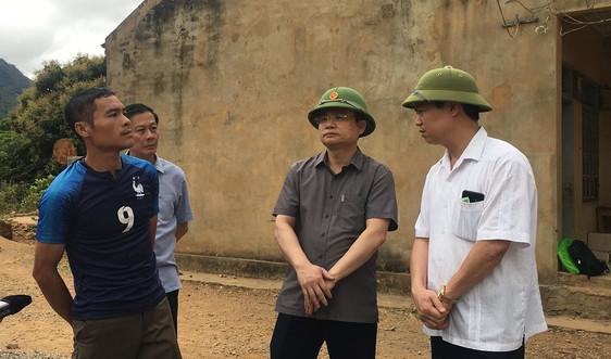 Sơn La đề nghị hỗ trợ khảo sát, đánh giá khu vực có nguy cơ sạt lở tại bản Ngậm