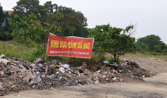 TP. Thanh Hóa: Xử phạt nhiều trường hợp vi phạm trật tự đô thị, vệ sinh môi trường